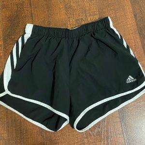 Adidas black athletic shorts